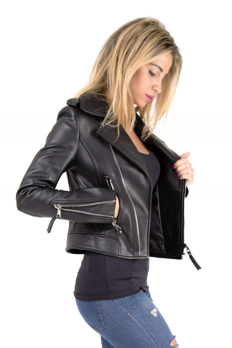 Pack Vestes cuir noir JC6058