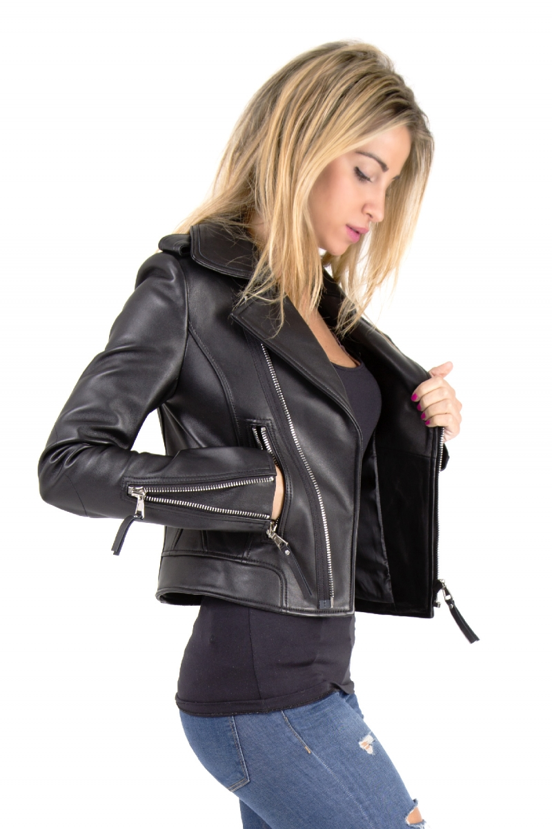 La veste en cuir